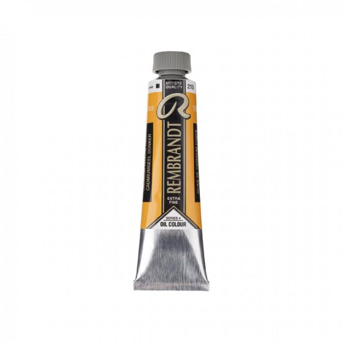 REMBRANDT Olieverf 40ml  Cadmium Geel Donker