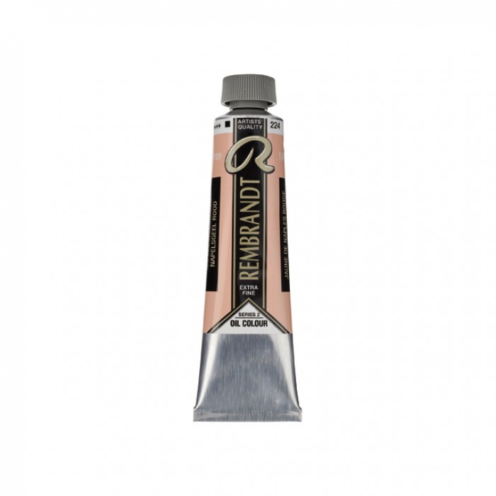 REMBRANDT Olieverf 40ml  Napelsgeel Roodachtig