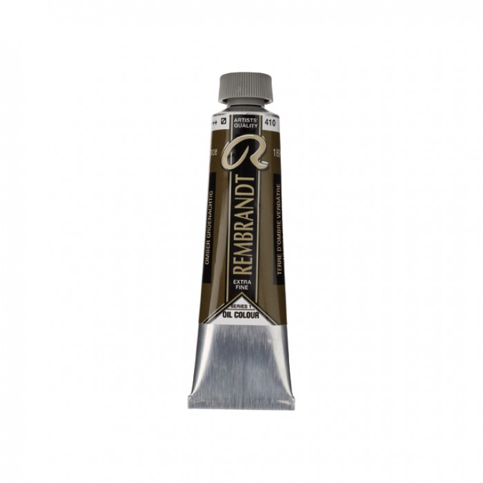 REMBRANDT Olieverf 40ml  Omber Groenachtig
