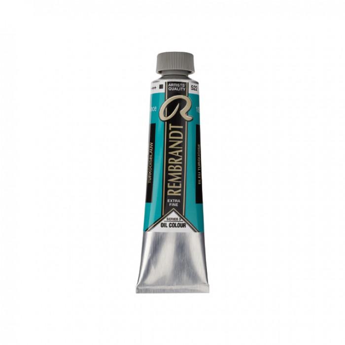 REMBRANDT Olieverf 40ml  Turkoois Blauw