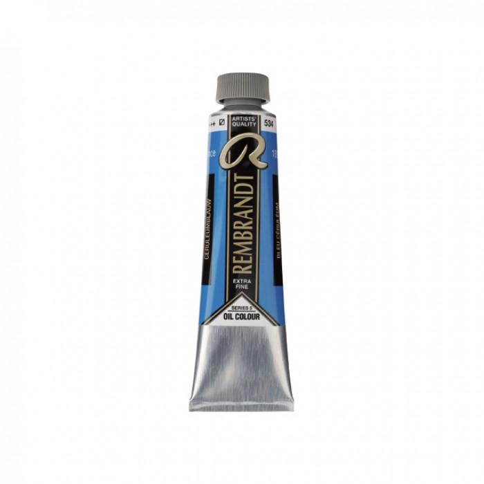 REMBRANDT Olieverf 40ml  Ceruleum Blauw