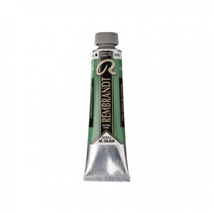 REMBRANDT Olieverf 40ml  Chrommoxyde Groen