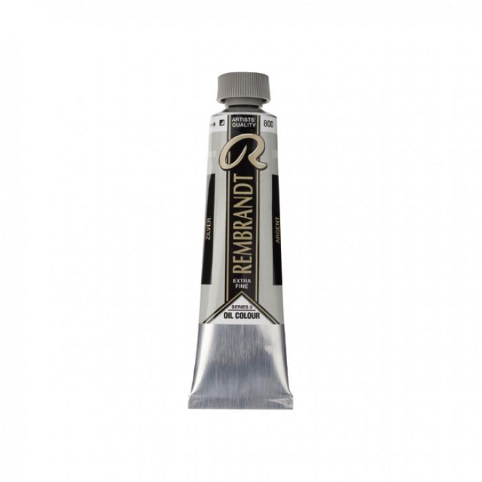 REMBRANDT Olieverf 40ml  Zilver