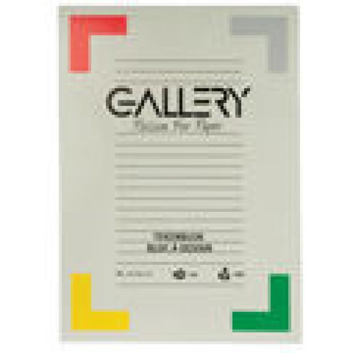 GALLERY Tekenblok 180gr 21x29,7cm 20 vel