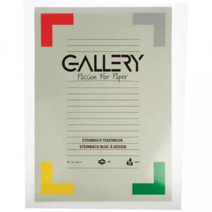 GALLERY Blok STEINBACH 42x29,7cm 200gr 20 vel