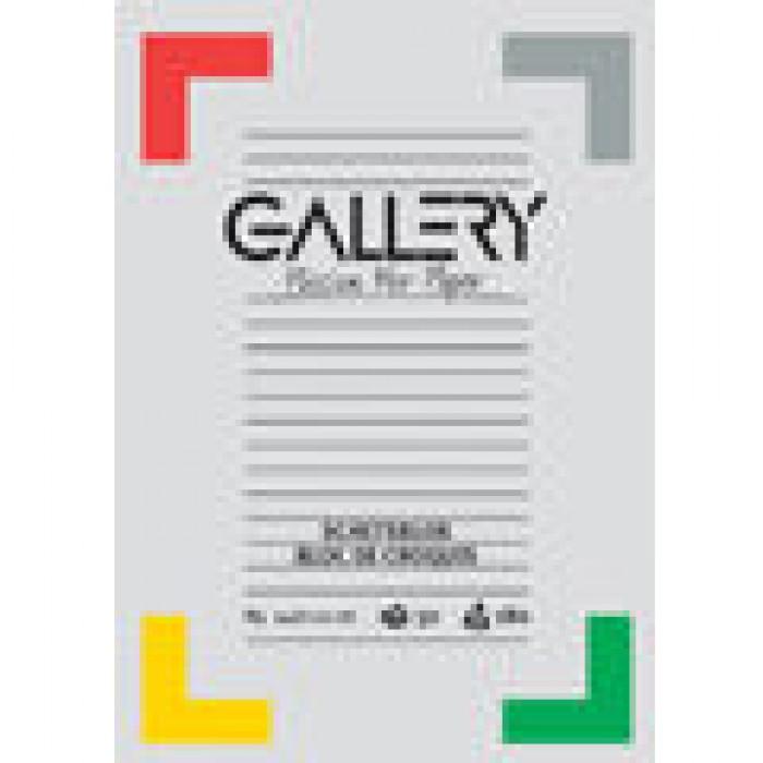 GALLERY Schetsblok A5 14,8x21cm 50 vel