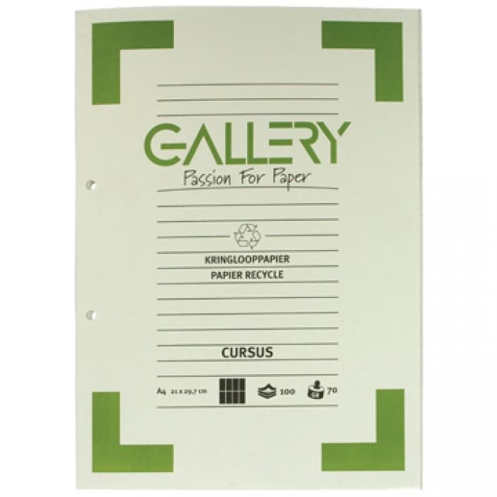 GALLERY Cursusblok Recyclage A4 Comm. Geruit