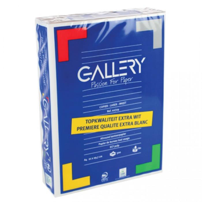 GALLERY 500vel Kopiepapier A4 WIT 80gr
