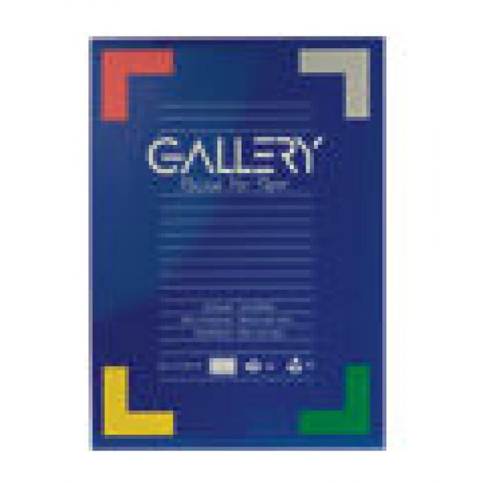 GALLERY Schrijfblok 50vel A5 70gr Gelijnd