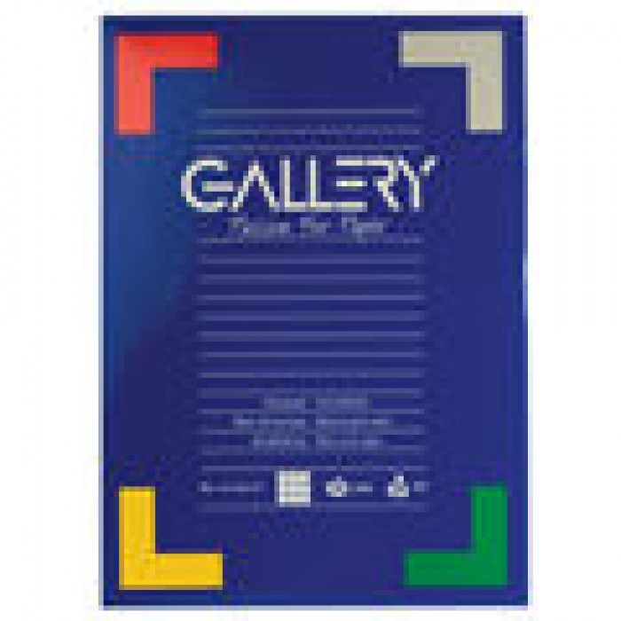 GALLERY Briefpapier 100vel 70gr A4 Geruit