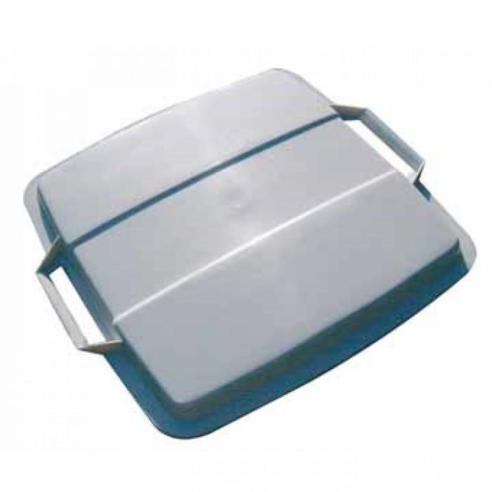DURABLE Deksel voor Afvalbak 0474G Grijs