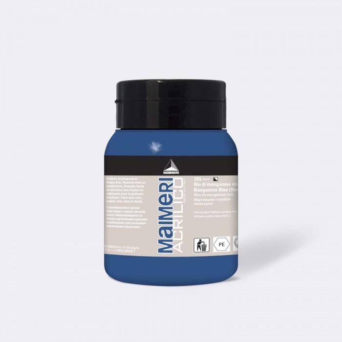 MAIMERI Acrilico 500ml Mangaan Blauw