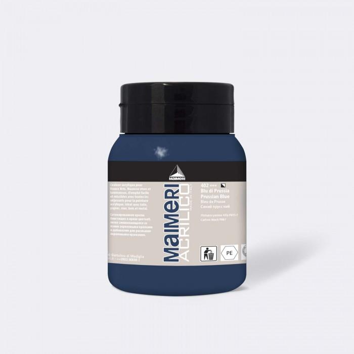 MAIMERI Acrilico 500ml Pruissisch Blauw