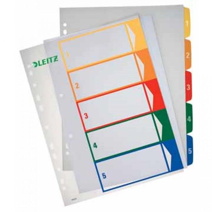 ESSELTE Tabbladen 5-delig Printbaar