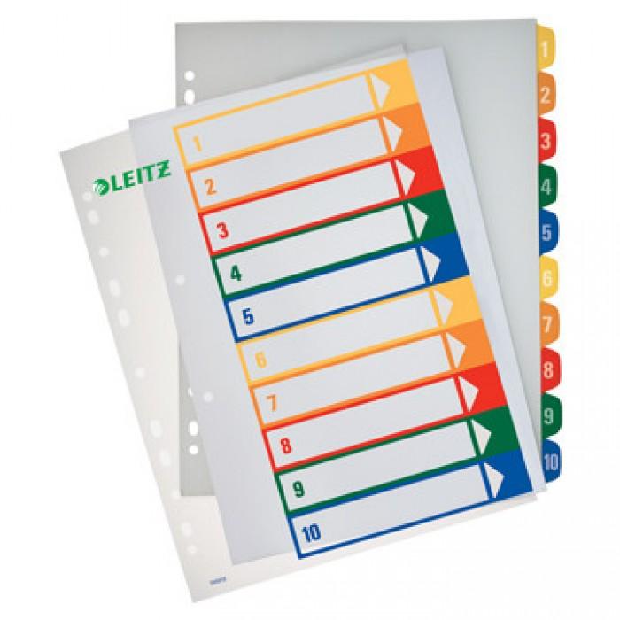 ESSELTE Tabbladen 10-delig Printbaar