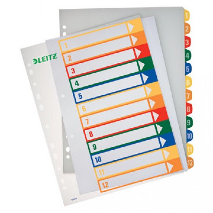 ESSELTE Tabbladen 12-delig Printbaar