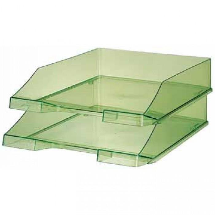 HAN Brievenbakje C4 Transparant Groen