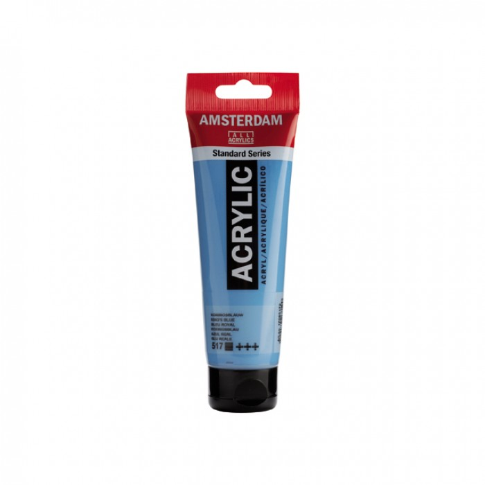 AMSTERDAM Acrylverf 120ml Koningsblauw