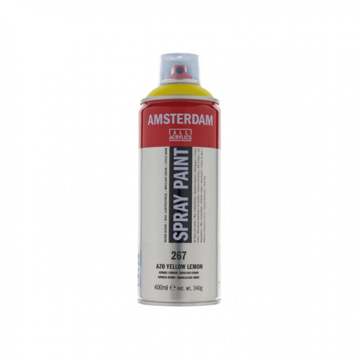 AMSTERDAM Acrylverf Spray 400ml Citroengeel AZO
