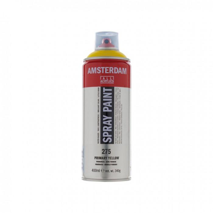 AMSTERDAM Acrylverf Spray 400ml Primair Geel