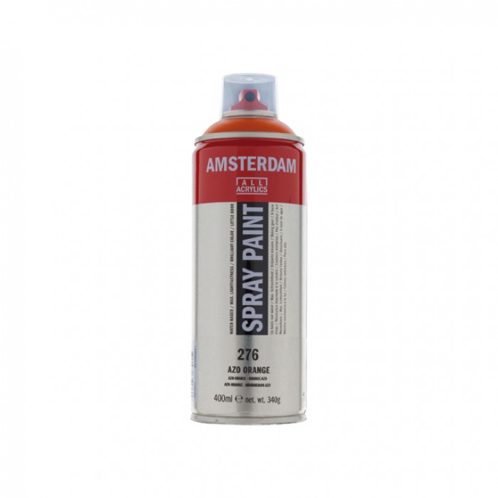 AMSTERDAM Acrylverf Spray 400ml Oranje AZO