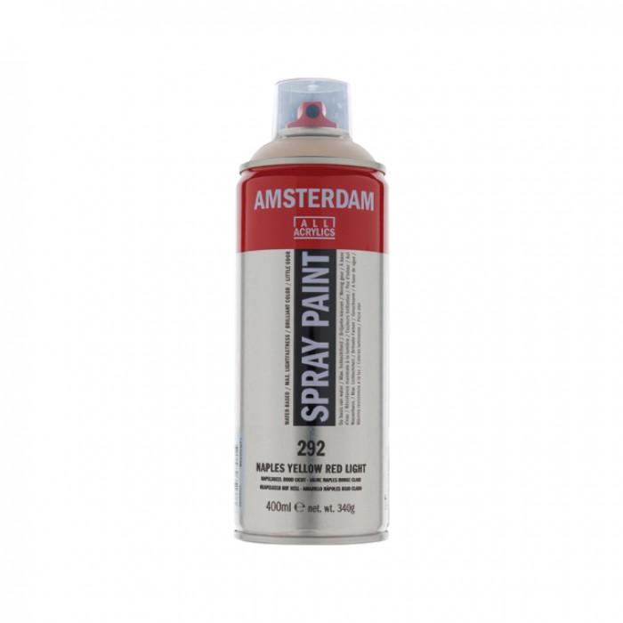 AMSTERDAM Acrylverf Spray 400ml Napelsgeel Rood Li