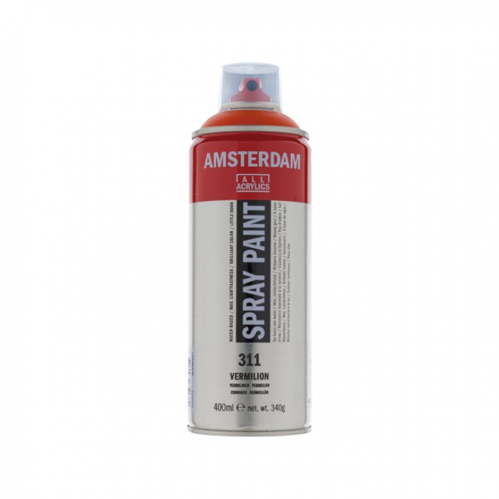 AMSTERDAM Acrylverf Spray 400ml Vermiljoen