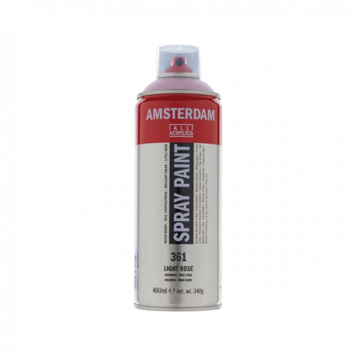 AMSTERDAM Acrylverf Spray 400ml Rose Lich
