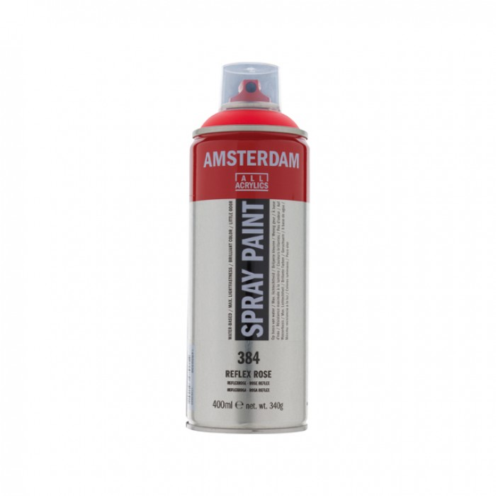 AMSTERDAM Acrylverf Spray 400ml Fluo Rose