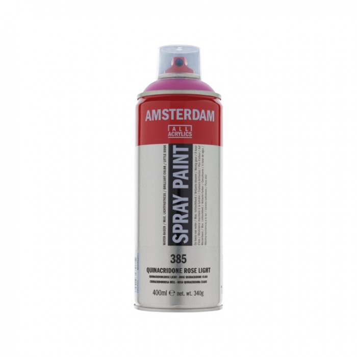 AMSTERDAM Acrylverf Spray 400ml Rose Licht Quinacr