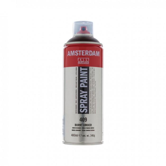 AMSTERDAM Acrylverf Spray 400ml Omber Gebrand