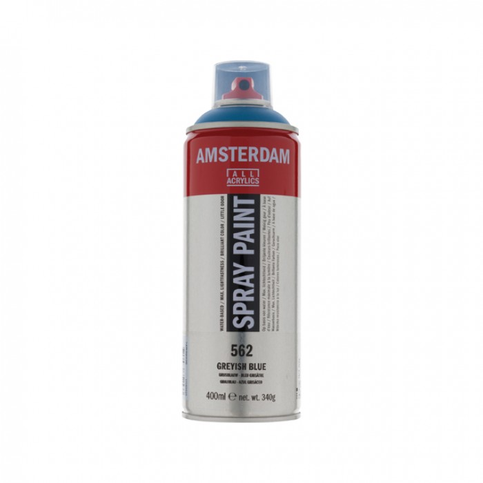 AMSTERDAM Acrylverf Spray 400ml Grijsblauw