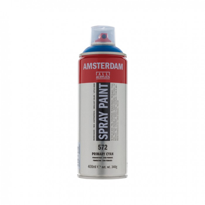 AMSTERDAM Acrylverf Spray 400ml Blauw Primair