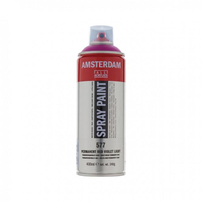 AMSTERDAM Acrylverf Spray 400ml Roodviolet Per Lt