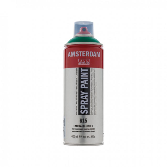 AMSTERDAM Acrylverf Spray 400ml Groen Emeraude