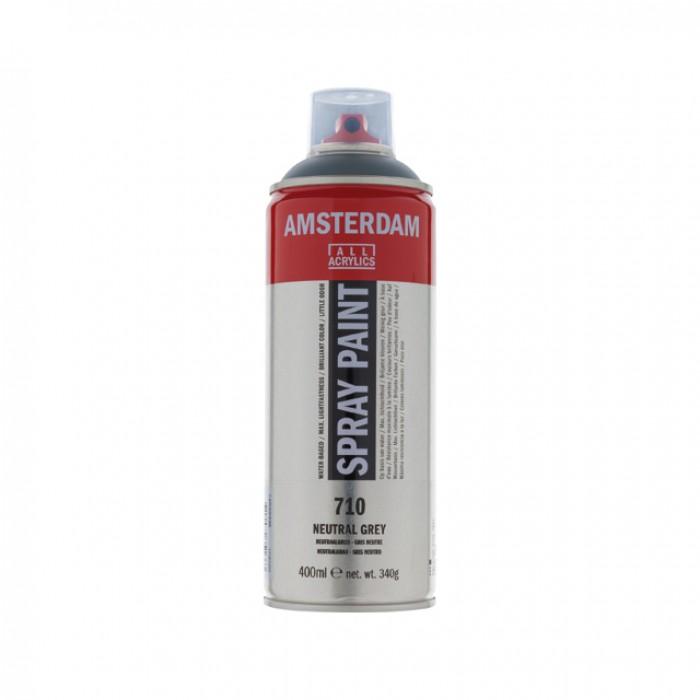 AMSTERDAM Acrylverf Spray 400ml Grijs Neutraa