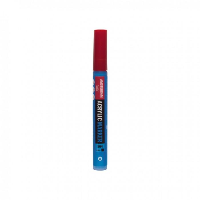 AMSTERDAM Acrylverf Marker 4mm Briljant Blauw