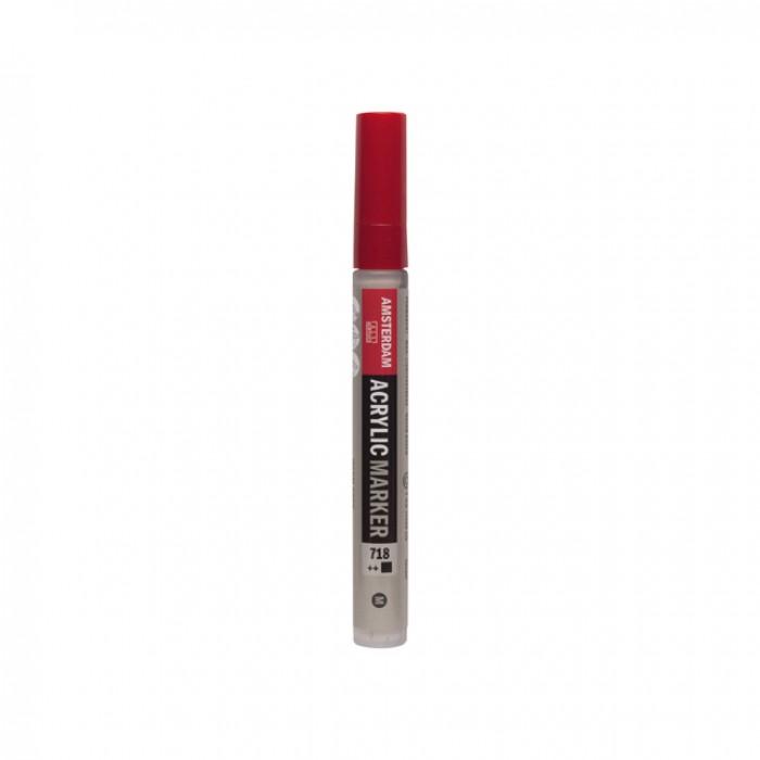AMSTERDAM Acrylverf Marker 4mm Warm Grijs