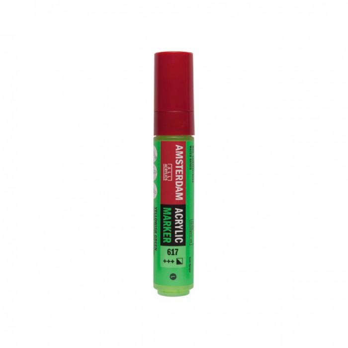 AMSTERDAM Acrylverf Marker 15mm Geelgroen