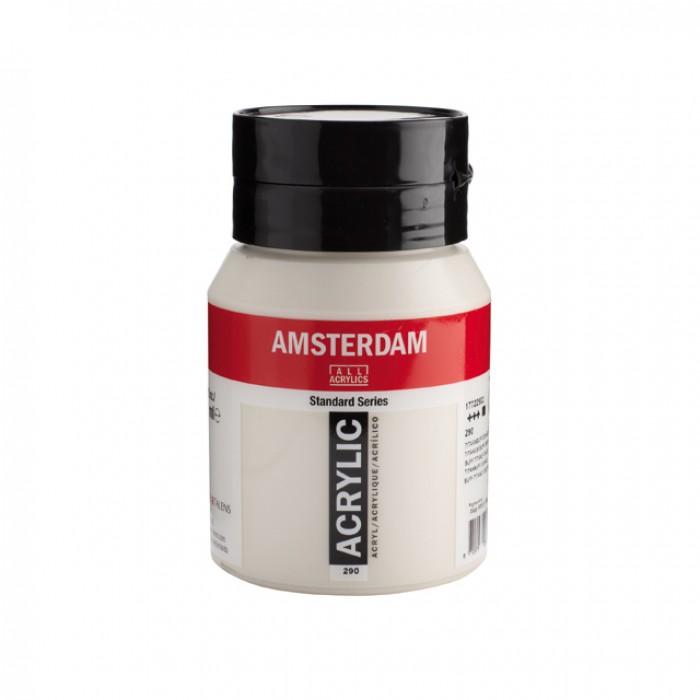 AMSTERDAM Acrylverf 500ml  Titaanbuff Donker