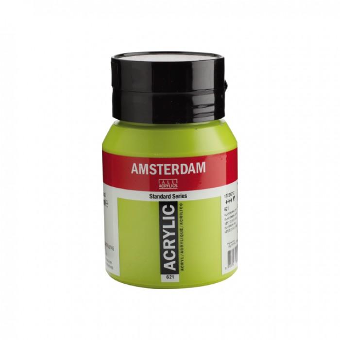 AMSTERDAM Acrylverf 500ml  Olijfgroen Donker