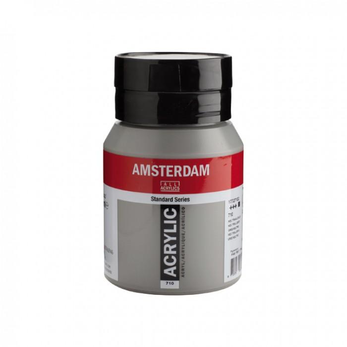 AMSTERDAM Acrylverf 500ml  Neutraalgrijs