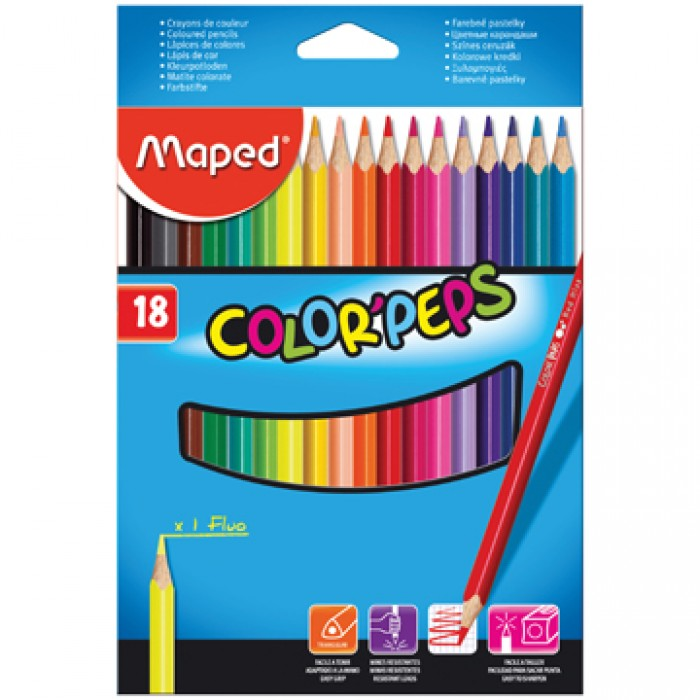 MAPED kleurpotlood Color'Peps 18