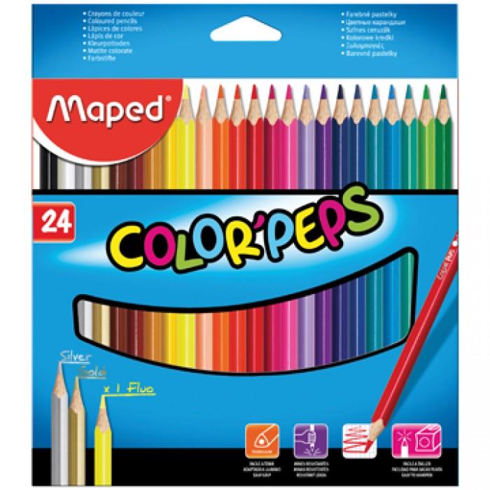 MAPED Kleurpotlood Color'Peps 24