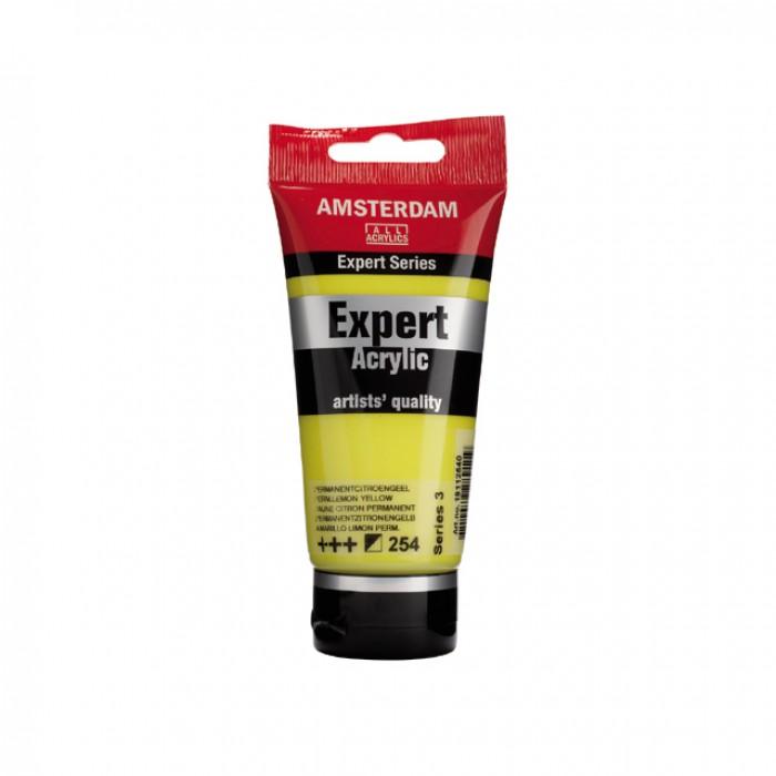 AMSTERDAM Acrylverf Expert 75 ml Citroengeel Perma