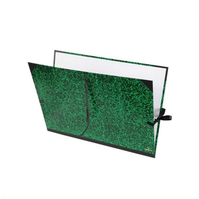 CANSON Tekenmap  Classic  3 Linten 61X81   groen A