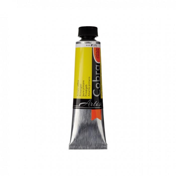 COBRA Olieverf Watervermengbaar 40ml Geel Primair