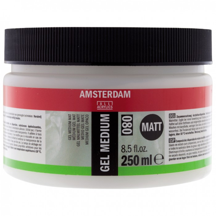 AMSTERDAM Gel Medium Mat  250ml