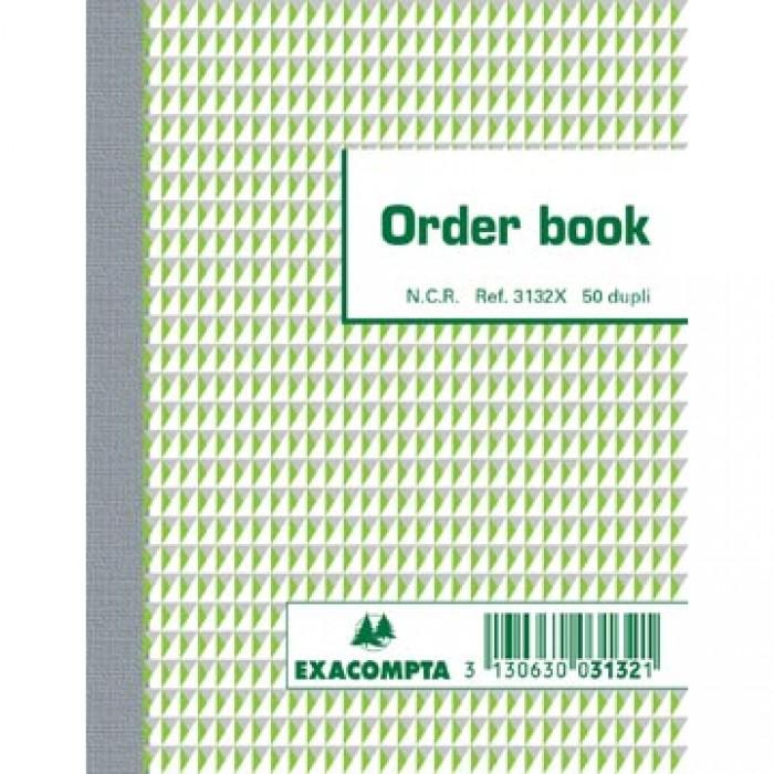 EXACOMPTA Orderboek A6 2-voudig 50sets