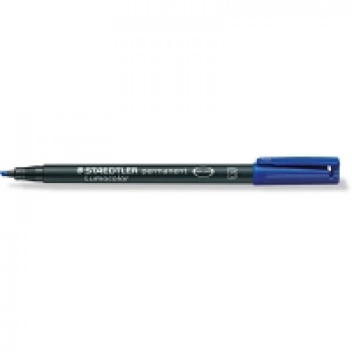 STAEDTLER Lumocolor OHP-Stift B Blauw Permanent